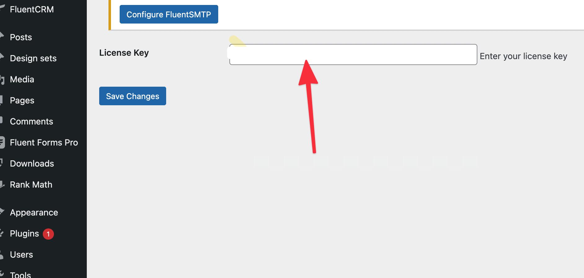 OxyMade Framework - Enter license number